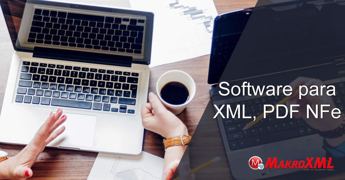 Software para XML, PDF Nfe